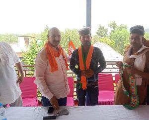 देहरा: मूहल के प्रधान संजय कुमार भाजपा में शामिल