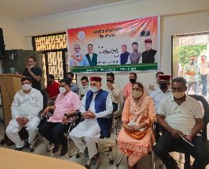 हमीरपुर की पांचों सीटें जिता कर भाजपा को देंगे: बलदेव शर्मा