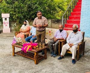 भदरूं, बैहरड़, कश्मीर और लाहड़ - कोटलू में बनेंगे नये पंचायत सामुदायिक केंद्र : विजय अग्निहोत्री