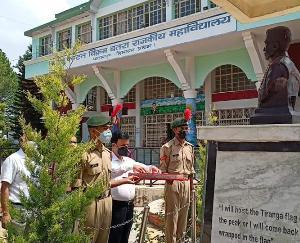 पालमपुर : अमर शहीद कैप्टन विक्रम बत्रा को दी श्रंद्धाजलि, पुण्य तिथि पर अर्पित किये श्रद्धा सुमन