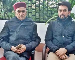 हमीरपुर : अनुराग ठाकुर की केंद्रीय मंत्री के रूप में शपथ लेते ही समीरपुर में लगा बधाई देने वालों का तांता