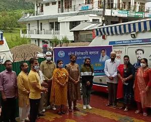 हमीरपुर :संत निरंकारी सत्संग भवन हमीरपुर में निःशुल्क मैडिकल टैस्ट कैम्प सम्पन्न