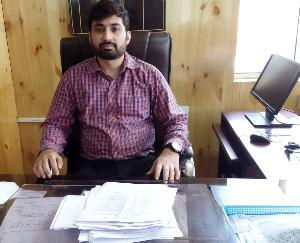 सरकाघाट : इंदौर के राहुल जैन सरकाघाट के नए एसडीएम नियुक्त