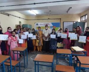 हमीरपुर : हिमाचल प्रदेश कौशल विकास निगम ने ITI रैल में आयोजित कार्यक्रम में वल्र्ड यूथ स्किल दिवस पर प्रशिक्षुओं को बांटे सर्टिफिकेट