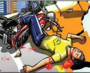 देहरा :अम्ब के मुबारिकपुर में हुए सड़क हादसे में बाइक सवार की मौत