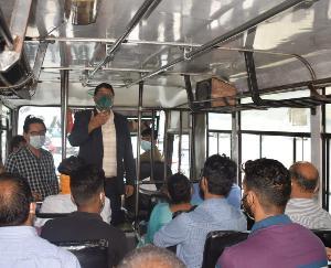 शिमला : कोरोना के बढ़ते मामलों की रोकथाम के लिए गठित जिला स्तरीय समिति ने किया औचक नीरिक्षण