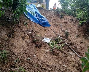 लडभड़ोल : बारिश से क्षेत्र में हुआ भारी नुकसान