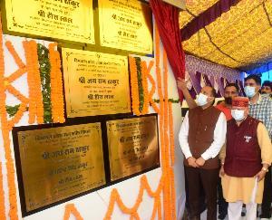 मुख्यमंत्री ने करसोग विधानसभा क्षेत्र में किए 55 करोड़ रूपये की परियोजनाओं के उद्घाटन व शिलान्यास