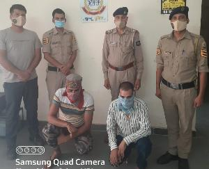 कुल्लू : एक किलो 107 ग्राम चरस के साथ बिलासपुर के दो युवक गिरफ्तार