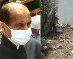 मुख्यमंत्री ने की किन्नौर हादसे में मृतकों के परिवार को 4 लाख व घायलों को 50 हजार देने की घोषणा