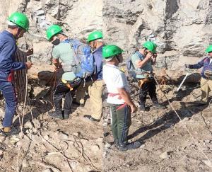 Kinnaur: Teams reached the center to study the causes of landslide in Nigulsari