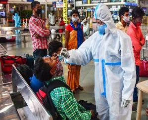 24 घंटे में भारत में सामने आए 34 हजार नए मामले, 375 की मौत