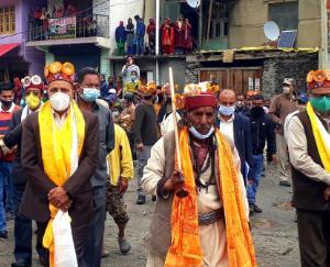 केलांग: डॉ रामलाल मारकंडा ने पौरी मेले में की शिरक़त, उदयपुर में सुनी जन समस्याएं