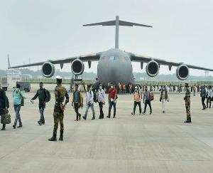 135 Indians stranded in Afghanistan reach Delhi from Doha