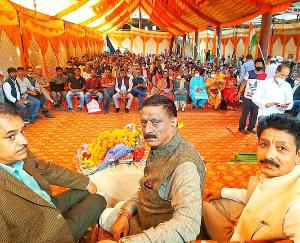 A meeting was organized by the State Congress Committee in Manali regarding the upcoming by-elections.