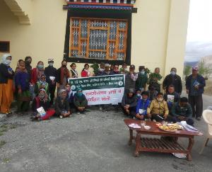 Agriculture training camp organized in Lahaul Spiti