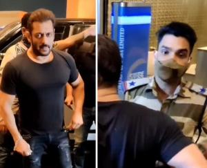 The CISF jawan who stopped Salman Khan at the airport and checked him was rewarded for performing his duty.