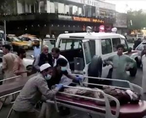 Two bomb blasts near Kabul airport, 72 killed
