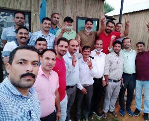 Padhar: Rakesh Chauhan became the head of the Physical Teachers Association Drang Second