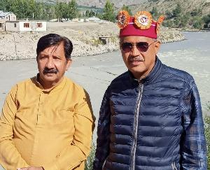 Keylong: Mukesh Agnihotri won the hearts of the people of Lahaul - Former MLA Ravi Thakur