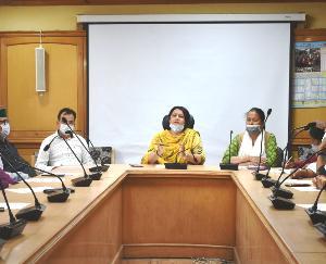 रिकांगपिओ : सफाई व्यवस्था को लेकर बैठक का आयोजन