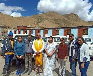 Himachal Governor Rajendra Vishwanath Arlekar reached Asia's highest village Kaumik