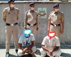 Two persons arrested with 34 grams of heroin in Kullu