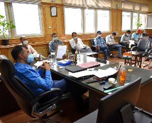 किन्नौर : पूर्ण राज्यत्व की स्वर्ण जयंती वर्ष पर आयोजित होने वाले कार्यक्रमों को लेकर बैठक