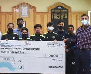 Kinnaur: The participants who participated in the national boxing competition were honored