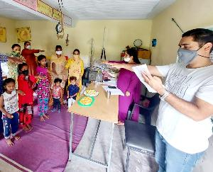 Kunihar: National Nutrition Month started in Anganwadi centers