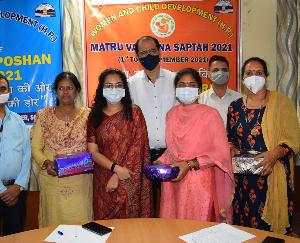 Deputy Commissioner Solan started the Nutrition Month and Mother Vandana Week