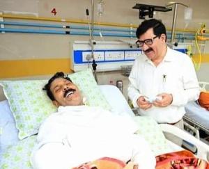 ऑपरेशन के बाद परस राम के स्वास्थ्य में सुधार