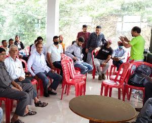 दाड़लाघाट : बाघल विकास परिषद की बैठक का आयोजन