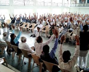 मंडी में भारतीय राज्य पैन्शनर्ज महासंघ की बैठक आयोजित