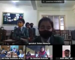 सोलन : गुरुकुल इंटरनेशनल सीनियर सेकेंडरी स्कूल ने मनाया आयुष सप्ताह