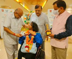 अविनाश राय खन्ना व कृष्ण कपूर ने किया पैरालंपिक 2020 के खिलाड़ियों का स्वागत