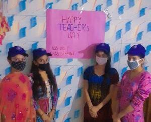 दाड़लाघाट : राजकीय वरिष्ठ माध्यमिक विद्यालय सरयाँज में मनाया गया अध्यापक दिवस