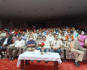 Kullu: Govind Thakur was present in Manali in the vaccine dialogue program with the Prime Minister