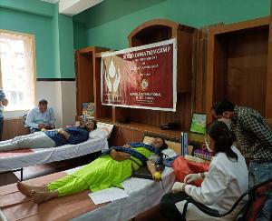 गुरुकुल इंटरनेशनल सीनियर सेकेंडरी स्कूल में रक्तदान शिविर का आयोजन