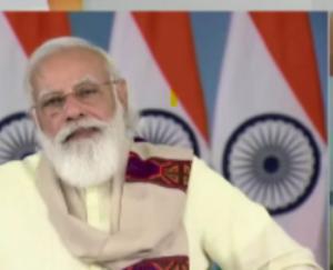लाहौल स्थित शाशुर गोम्पा के लामा नवांग उपासक से की प्रधानमंत्री नरेंद्र मोदी ने बात
