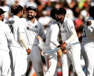 India ranked No. 1 in the World Test Championship