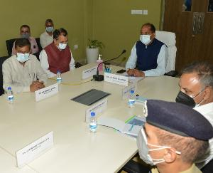 Chief Minister directed to complete the construction work of AIIMS within the stipulated time period.