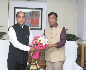 Chief Minister met the Union Health and Family Welfare Minister