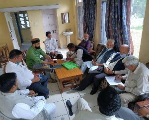 Sirmaur: Hati committee meeting organized in Rajgarh
