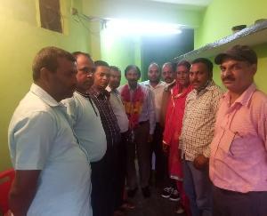 Sarkaghat: Nanak Chand Bhardwaj selected as State Coordinator for Vishwakarma State Unit