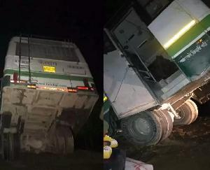 Himachal Pradesh: HRTC bus hanging in the air uncontrollably