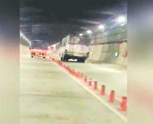 HRTC bus driver had to overtake expensive in Atal Tunnel, challan of Rs 7500