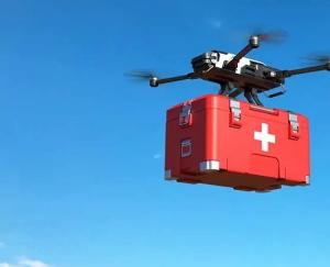 Home delivery of medicines will be done by drone in Telangana, becoming the first state in the country to do so