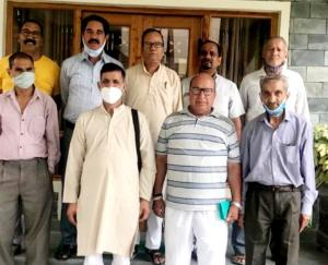 Kunihar: Indian State Pensioners Federation meeting concluded