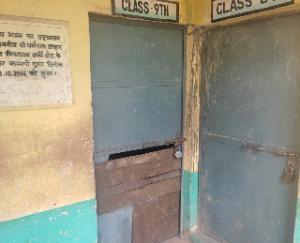 Panchayat members did surprise inspection